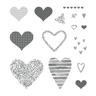 Stampin' Up! Heart Happiness Stamp Set order from Mitosu Crafts UK Online Shop