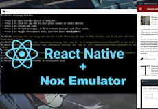 Menggunakan Nox Emulator dengan Framework React Native