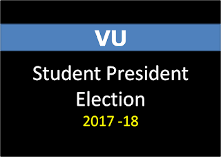 Virtual University Student President Election (2017-18)