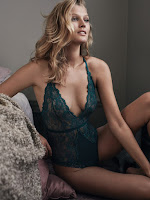 H&M Lingerie Fall/Winter 2015 Campaign featuring Toni Garrn