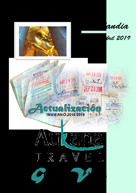 Catálogo Aukana Circuitos Tailandia Invierno 2018-19