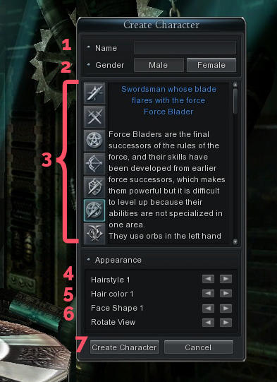 Character Creation in Cabal Online PH