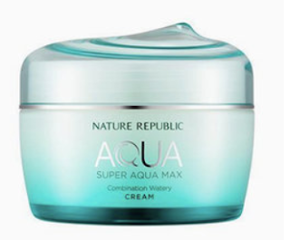 Nature Republic Super Aqua Max Combination Watery Cream Review | Healthbiztips