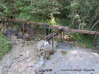 Wasserrad bein Bad Hindelang