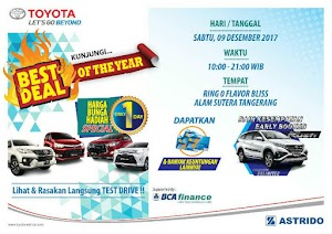 Program BEST DEAL - OF THE YEAR with BCA Finance