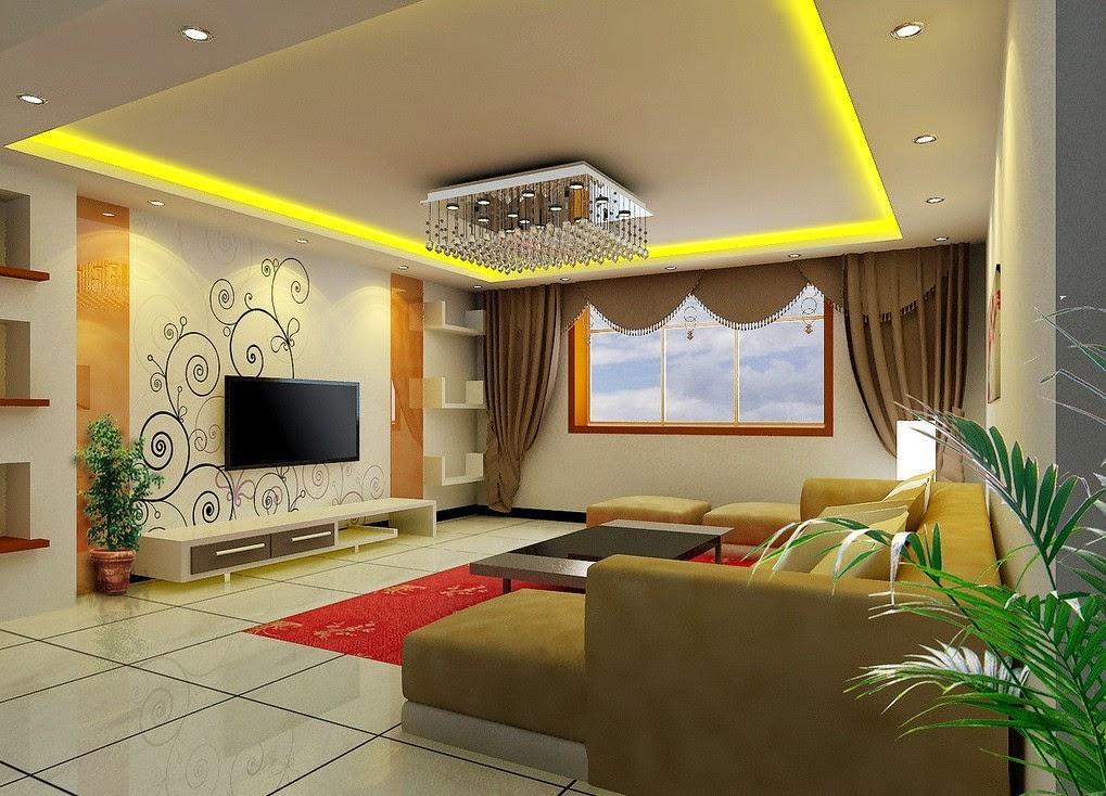 id es de peinture pour un salon. Black Bedroom Furniture Sets. Home Design Ideas
