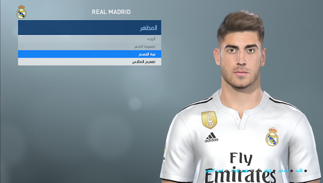 PES 2019 M. Asensio Face by Shenawy