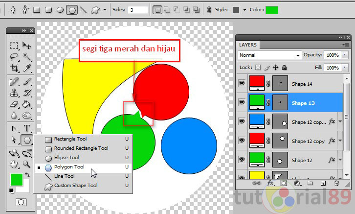Cara membuat logo blog dengan photoshop