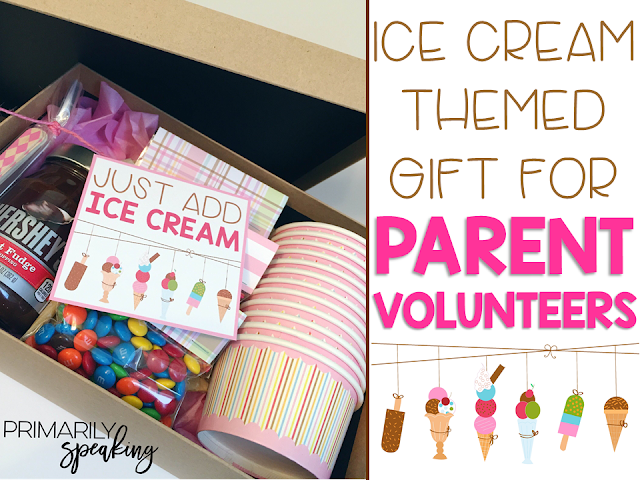 Parent Volunteer Gift Idea