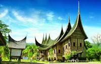 Mengenal Rumah Adat Sumatera Barat Rumah Gadang