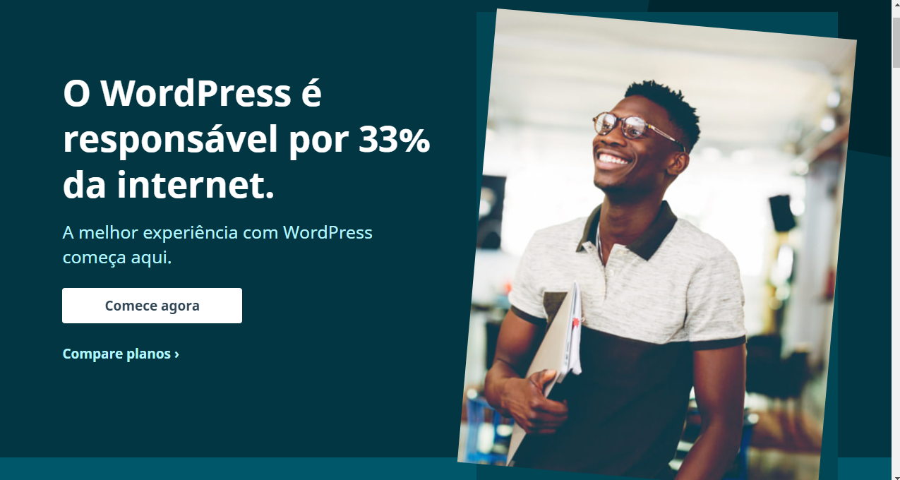 Pagina inicial Wordpress