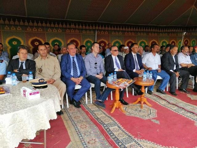 عامل الإقليم يشرف على إفتتاح مهرجان التبوريدة بحد السوالم