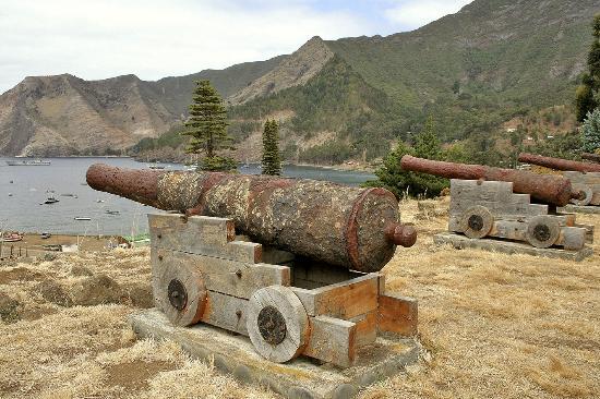 Pontos turísticos nas Ilhas Juan Fernández no Chile