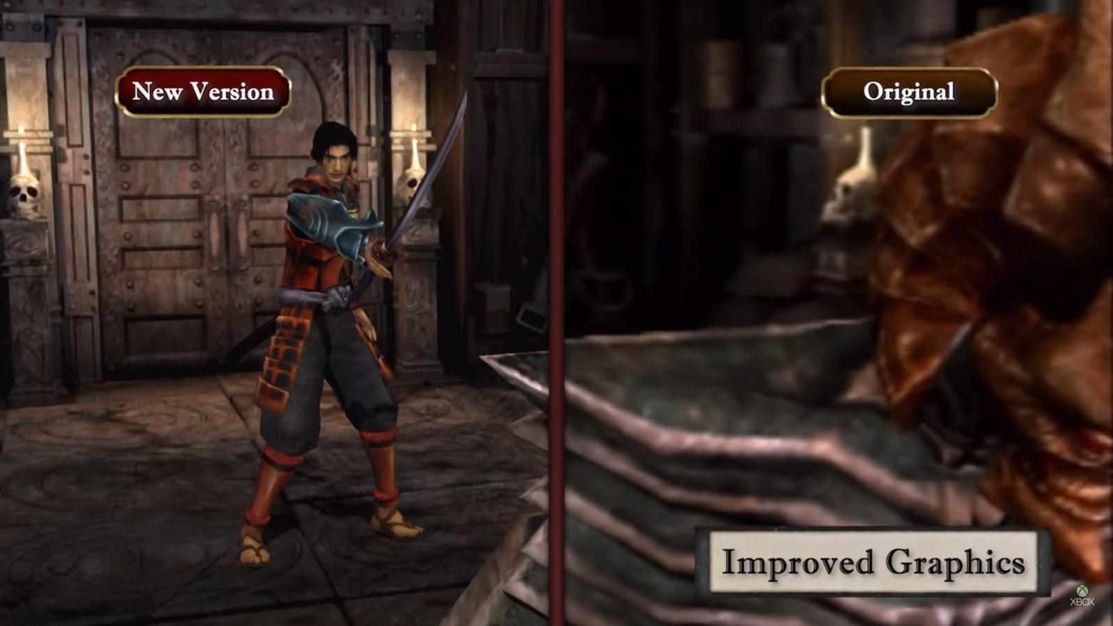 عرض إطلاق لعبة Onimusha Warlords