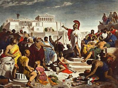 Resultado de imagem para gregos no parlamento