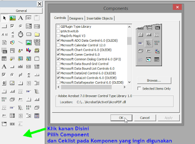 TOOL BOX VISUAL BASIC 6.0 DAN FUNGSINYA