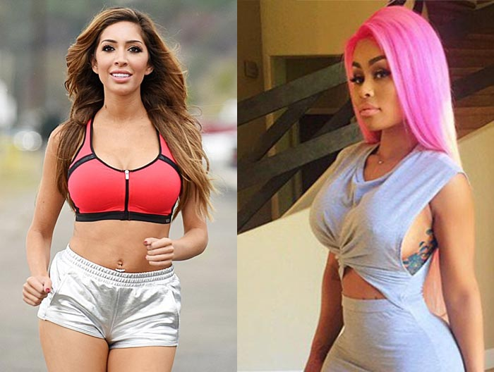 "Reality TV Star Farrah Abraham Calls Blac Chyna A ""Fuckin Monkey"" On Instagram"