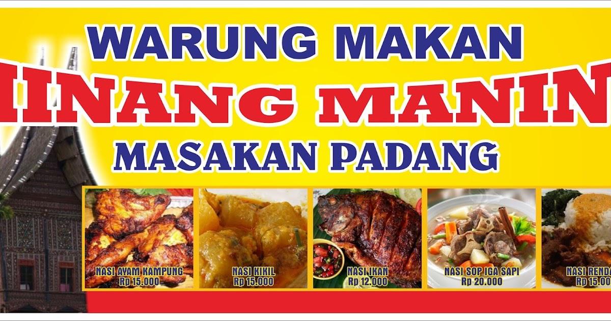 Contoh Mmt Masakan Padang - desain banner kekinian