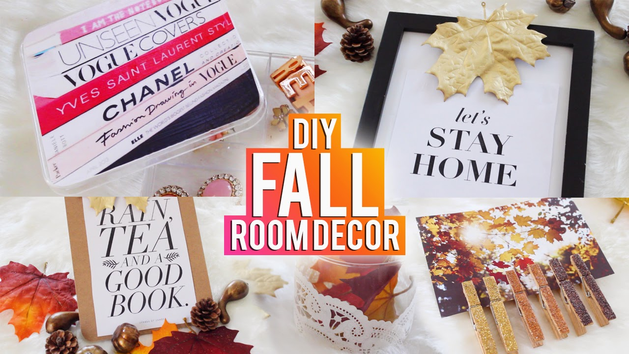 Hellomaphie Diy Fall Room Decor