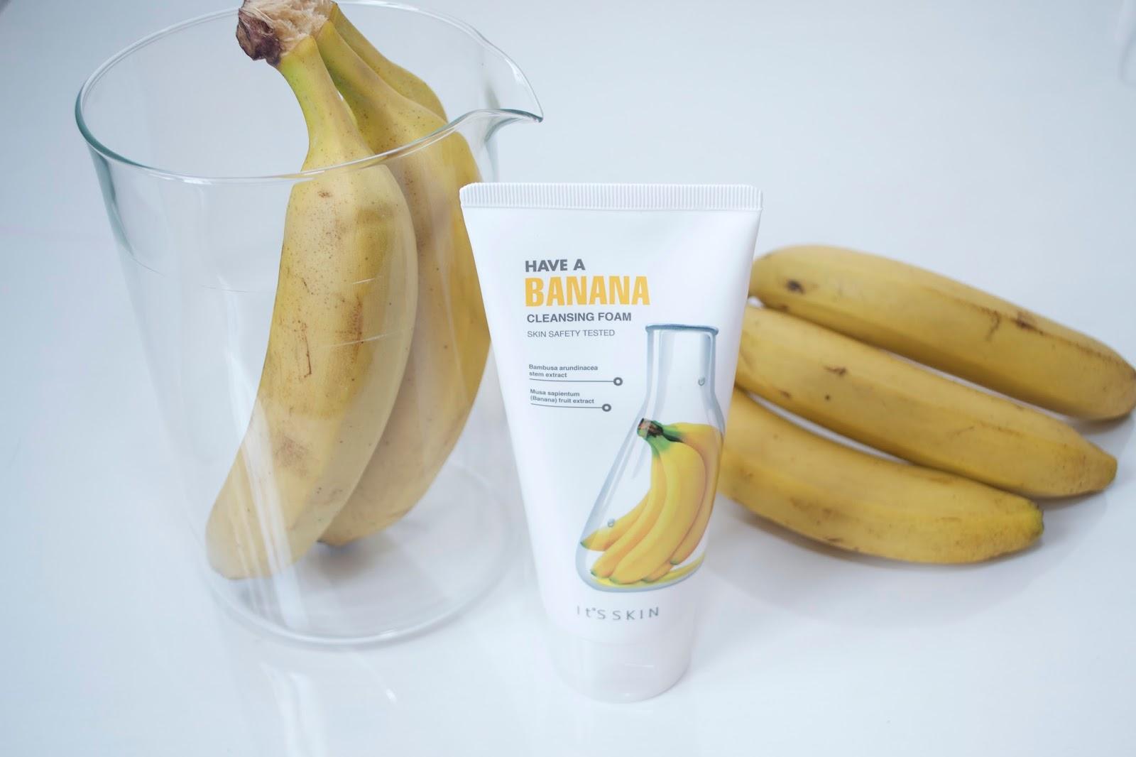 TanichkaMe: It's Skin Have a Banana Cleansing Foam Мягкая очищающая пенка  для умывания