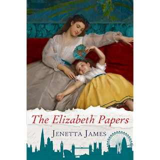 Book cover: The Elizabeth Papers by Jenetta James