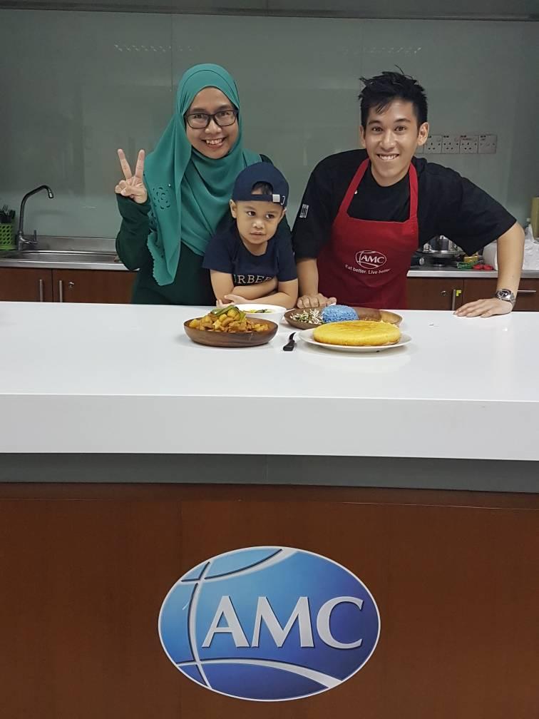 Masak-masak bersama AMC dan Arshad Zamir