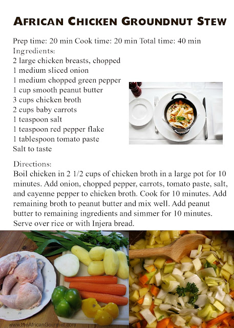 African groundnut stew with chicken is a hearty traditional African stew recipe