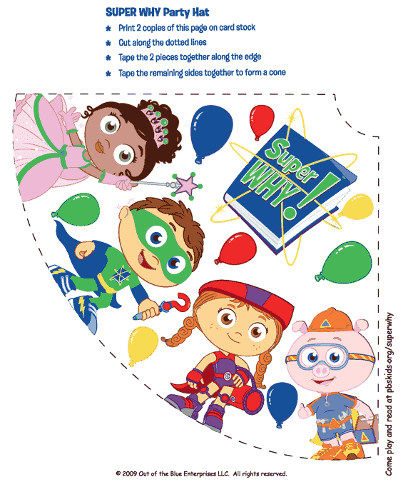Sarah With An H Super Why Party