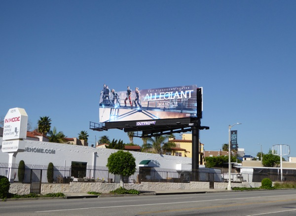 Allegiant special extension billboard
