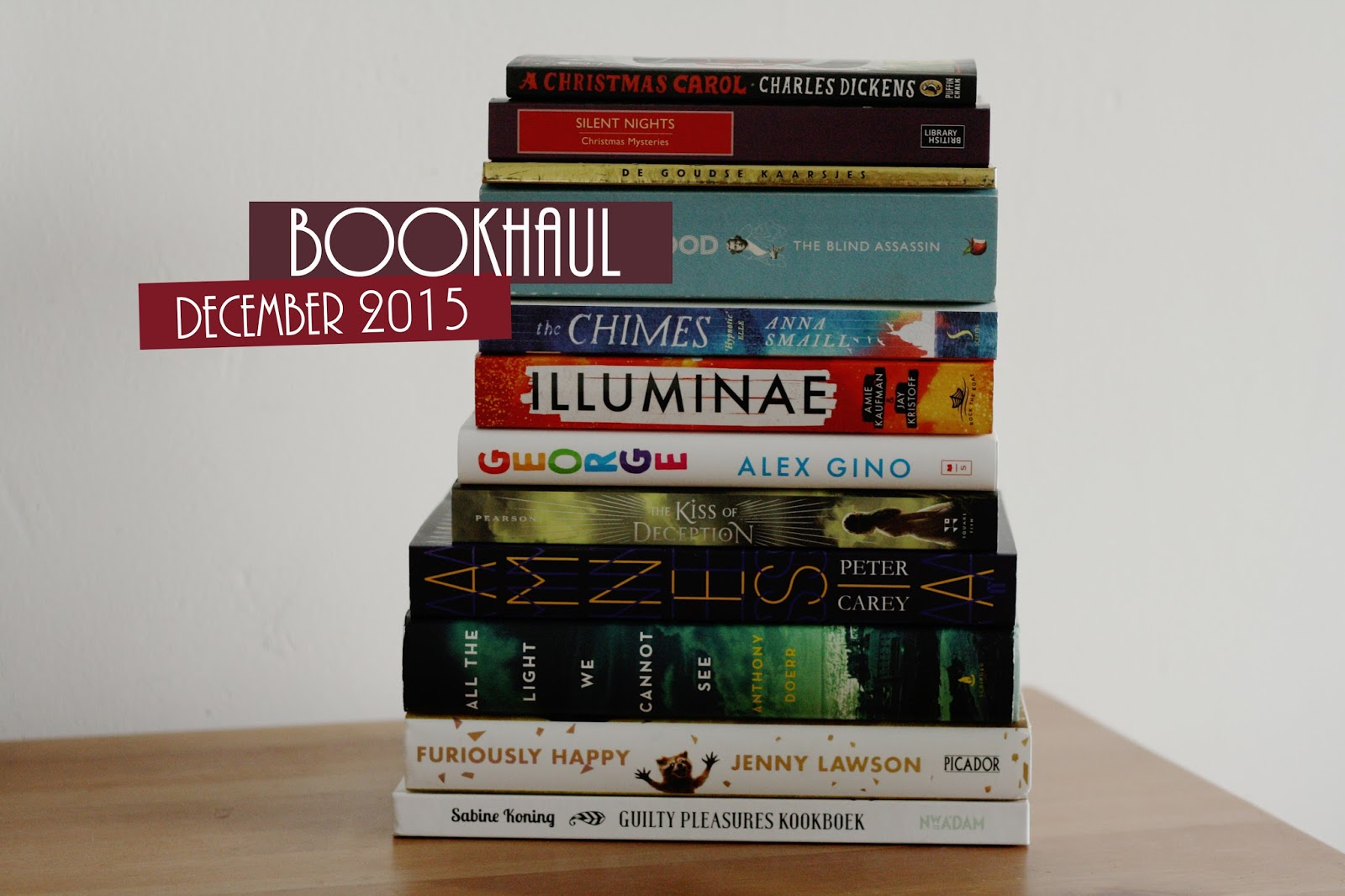 Bookhaul December 2015; thestoryhour.nl