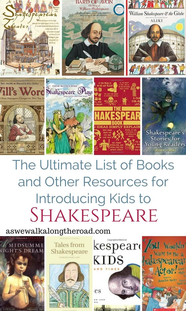 Kids' Books About Shakespeare