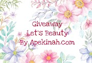 Pemenang Giveaway Let's Beauty by Apekinah.com