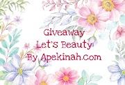 Pemenang Giveaway Let's Beauty by Apekinah.com