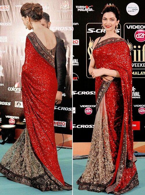 40 Best Images Of Deepika Padukone In Saree || Deepika Padukone\'s ...