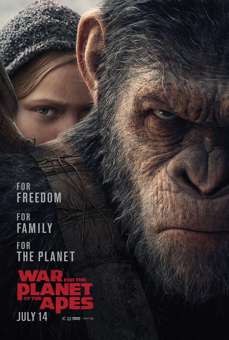 wojna o planetę małp recenzja