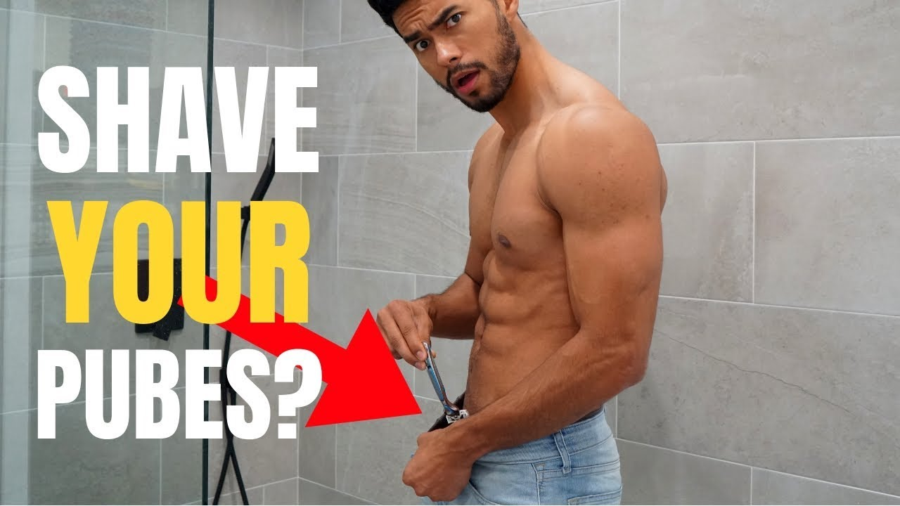 Bollymeditube: How to shave pubic hair for men