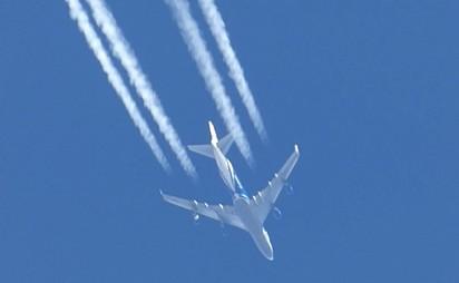 BUFALA – Cattura nanopolveri sulla scia di un aereo commerciale