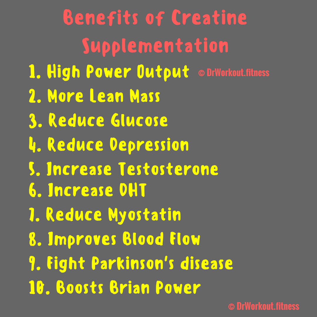 Top Benefits of Creatine