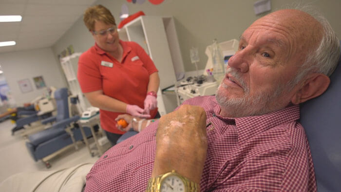 'Man With The Golden Arm,' Who Saved The Lives Of 2.4 Million Babies Donating His Blood, Makes His Last Donation