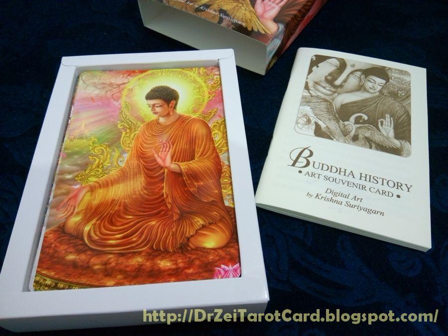 Buddha history oracle ไพ่ออราเคิล ไพ่พุทธประวัติ โปสการ์ด พระพุทธเจ้า ปางประทานพร พุทธศิลป์