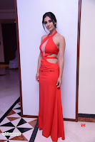 Alankrita new actress in Red Deep Neck Gown Stunning Pics ~  Exclusive Galleries 018.jpg