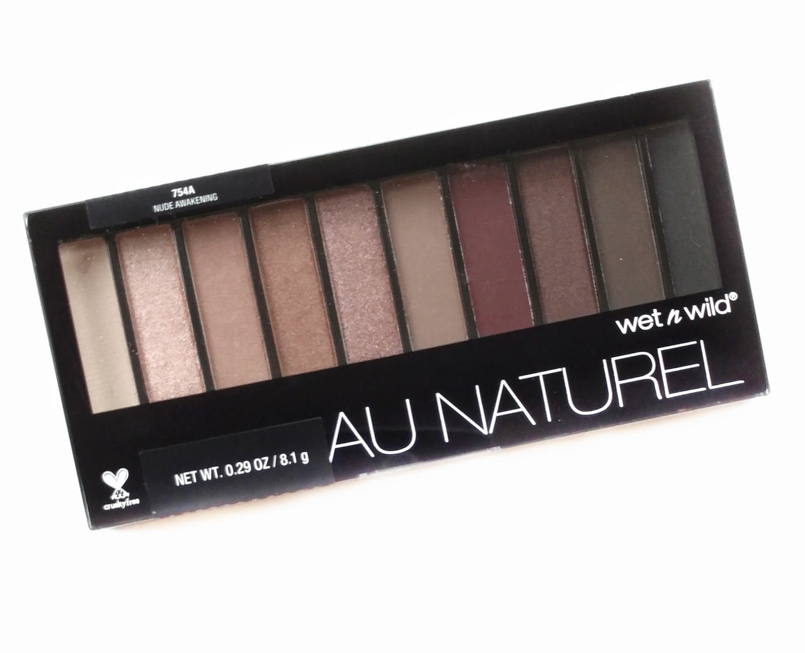 Swatch Sunday: Wet n Wild Au Natural Nude Awakening