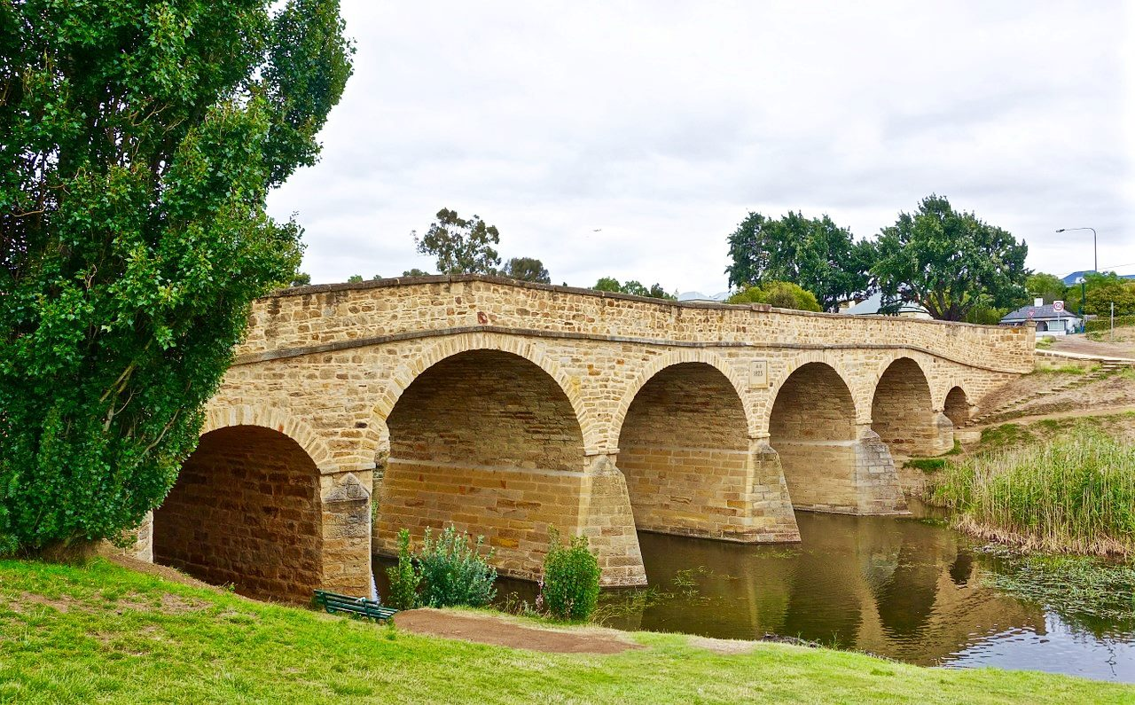 塔斯馬尼亞-景點-推薦-里奇蒙橋-自由行-旅遊-澳洲-Tasmania-Tourist-Attraction-Richmond-Bridge-Travel-Australia