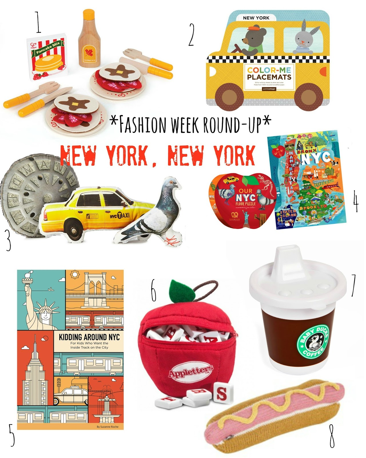 mamasVIB | V. I. BUSY BEES: 8 Mini fashionista buys inspired by New York Fashion Week