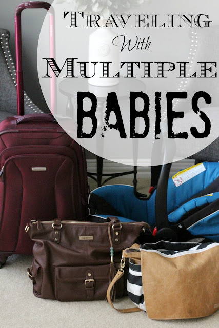 Traveling with children is hard, but when you have more than one baby, it's extra challenging!