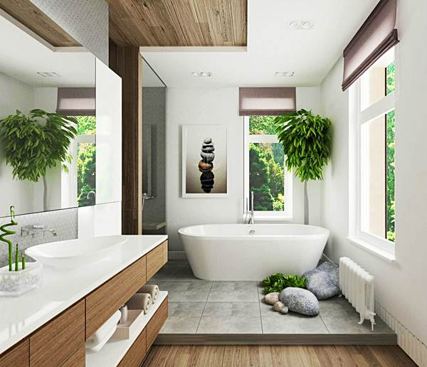 Keys For Decorating a Zen Style Bathroom 2