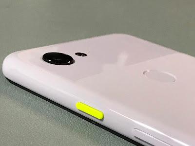 pixel3aカメラ部分写真