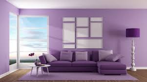 relaxing colors for living room purple shades combination