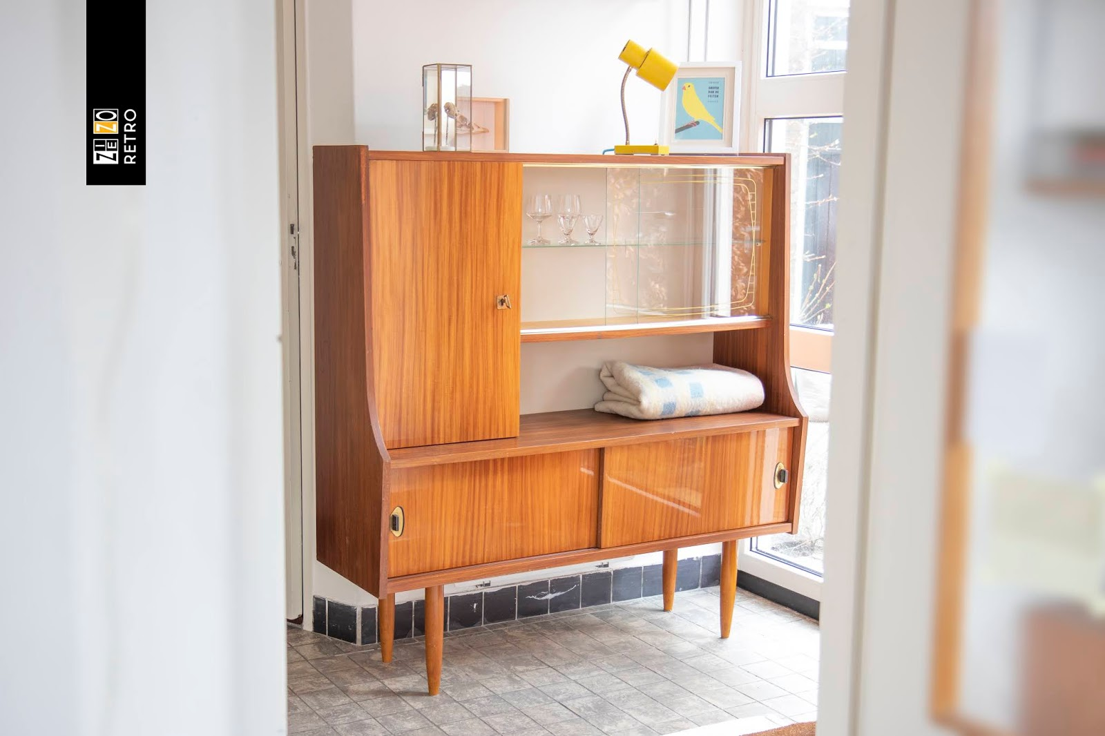 50 Jaren Kast.Vintage Retro Buffetkast Oude Kast Uit Jaren 50 60