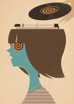 Ilustración minimalista de Zara Picken